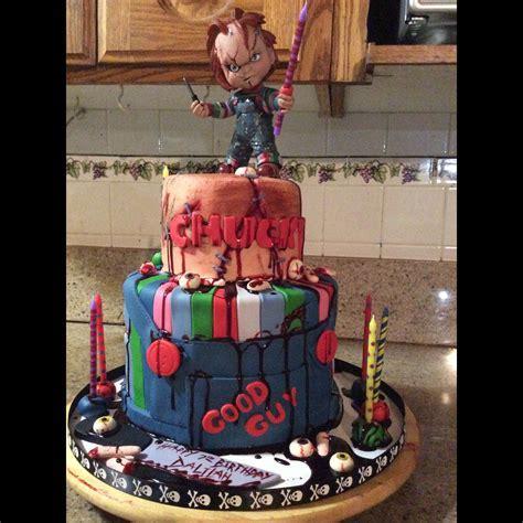 Chucky cake   Horror Movie Cakes   Pinterest   Chucky