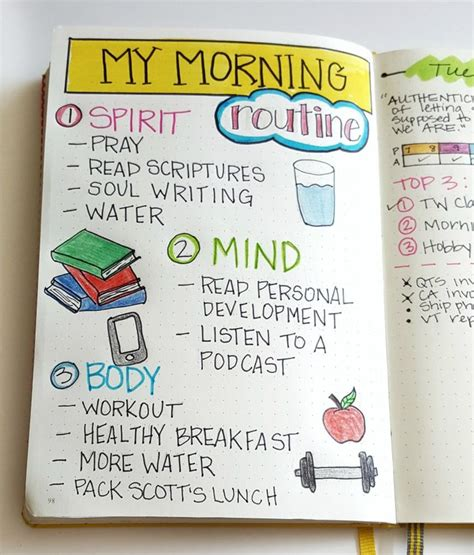 the morning routine journal a 30 day morning routine journal for creating ideal habits better results and transforming your books 25 best ideas about morning routines on