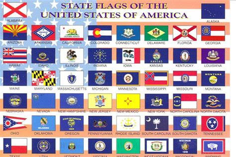 flags of the world united states all 50 state flags all 50 state flags of the united