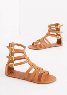 rue 21 gladiator sandals cognac tri buckled gladiator sandal flat sandals rue21