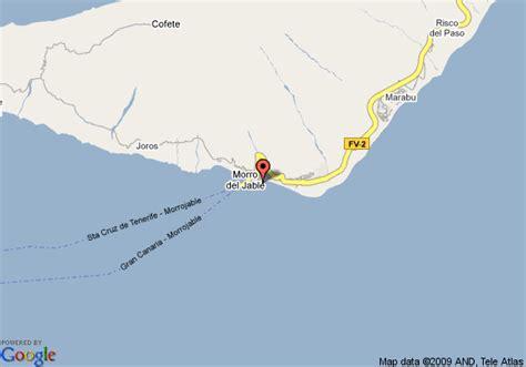 barcelo resort fuerteventura map map of barcelo jandia mar aldea de chilegua