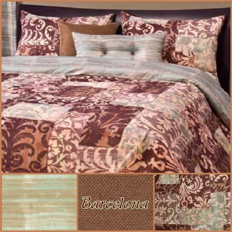 Patchwork Bedding Barcelona Fitted Bed Cap Comforter Set Fitted Comforters For Bunk Beds