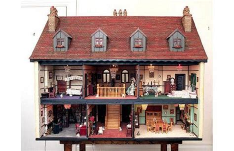 dolls house miniature a doll house made after a well furnished home in the uk fetches 82 k elite choice