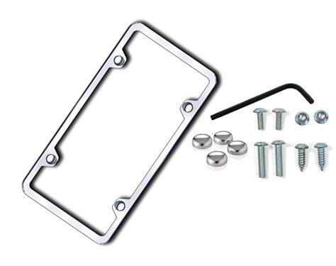 security kits license plate locking security kits with frame license