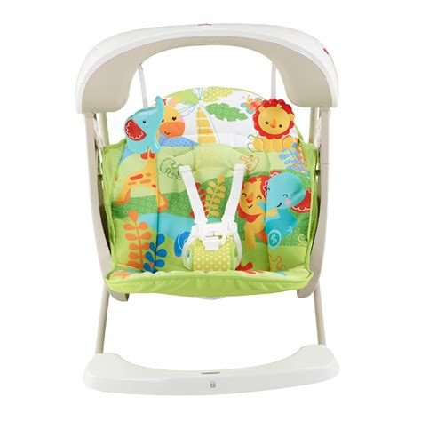 fisher price swing n seat forest fun buy fisher price rainforest take along swing seat