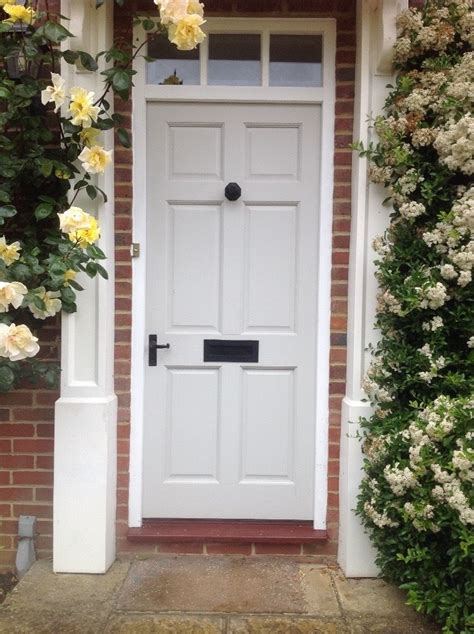 Exterior Door Furniture Wooden Front Door With Black Door Furniture In Hungerford Berkshire Gumtree