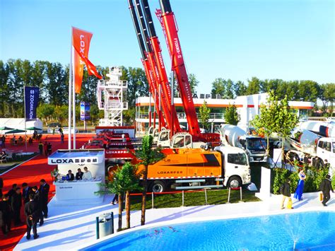 foton essen baumaschinenmesse bices2013 in peking f 252 r loxa ein voller