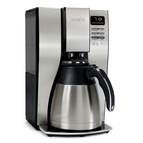 Mr. Coffee® Smart Optimal Brew? 10 Cup Programmable Coffee Maker with Wemo®, BVMC PSTX91WE