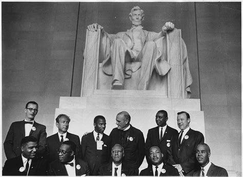 Civil Rights file civil rights march on washington d c leaders of