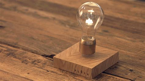 levitating bulb flyte sets the lightbulb free with this new levitating