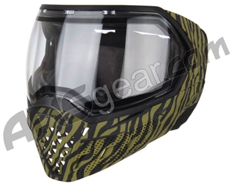 empire evs paintball mask limited edition tiger stripe