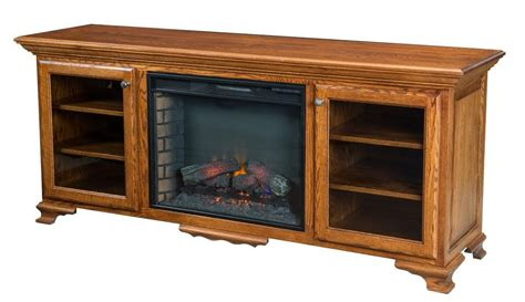 large amish electric fireplace plasma tv stand media