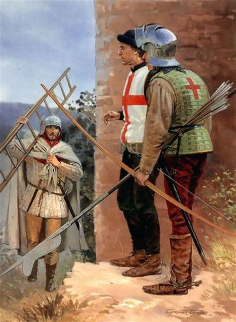 libro longbowman vs crossbowman hundred 10 things you should know about the english longbowman
