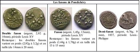 Comptoir De La Monnaie by La Monnaie Des Comptoirs De L Inde Fran 231 Aise Pondich 233 Ry