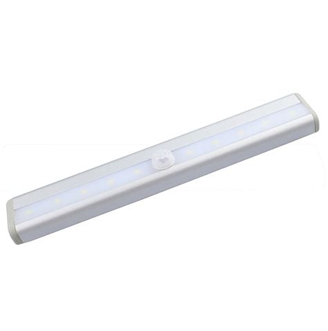 10leds Motion Sensor Closet Cabinet Led Night Light Cabinet Lighting Battery Kitchen