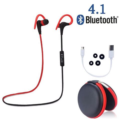 Bluetooth Headset Earphone Bt 10 Stereo Hf 1 wireless sports stereo sweatproof bluetooth earphone