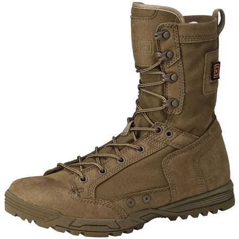 coyote boots 5 11 mens skyweight rapiddry boots patrol airsoft