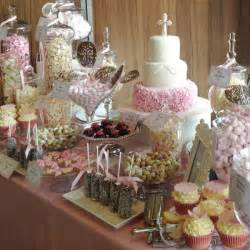 Cake And Candy Buffet Table Pink Dessert Table Candy Buffets L Sweetie Tables L