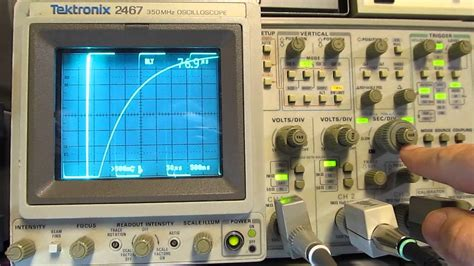 how to check capacitor with oscilloscope 90 measure capacitors and inductors with an oscilloscope and some basic parts