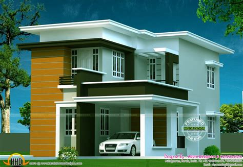 home design wish inc 2 storey house design with flat roof lovely models 2