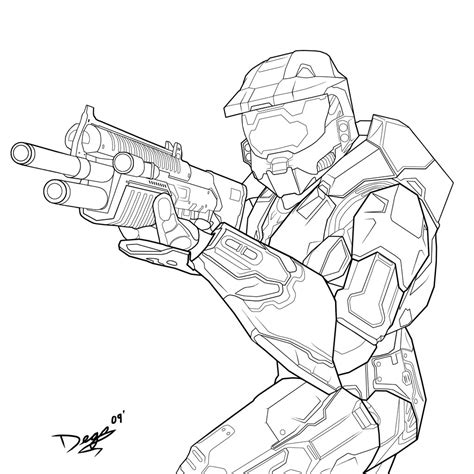master chief helmet coloring pages coloring pages
