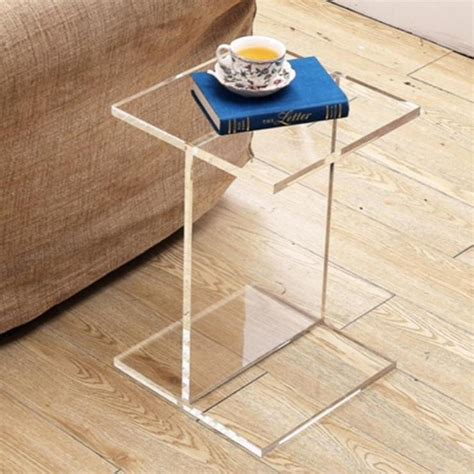 Acrylic Accent Table Clear Acrylic Accent Table