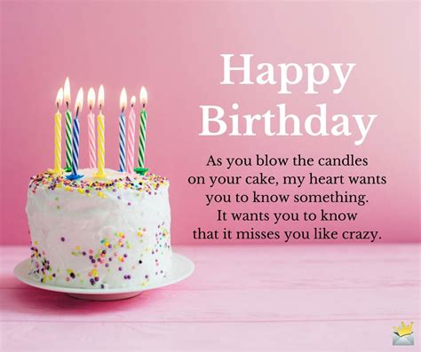 my best wishes to you birthday greetings for my ex from a relationship to a wish