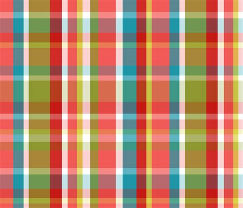 define plaid madras plaid coral fabric littlerhodydesign spoonflower
