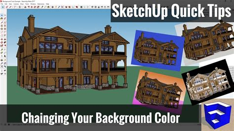 sketchup layout remove background changing the background color of your sketchup model