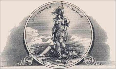 sic semper tyrannis tattoo sic semper tyrannis and coins on