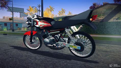 Yamaha Rx King Engine yamaha rx king 135 for gta san andreas