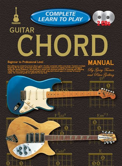 learn guitar yourself progressive complete learn to play guitar chords