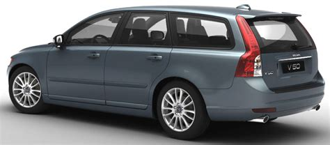 view of volvo v50 1 6 diesel photos features and