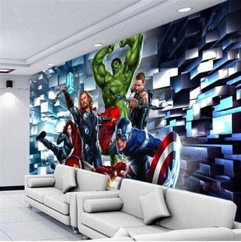 wallpaper  avengers customized wall mural marvel