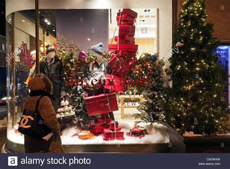 christmas décorations online canada canada province montreal decorations and lights stock photo royalty free