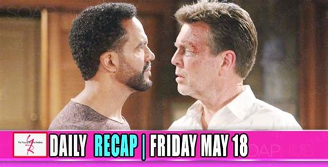 Yr Recap One Night The Young And The Restless Recaps | the young and the restless recap for friday may 18 neil