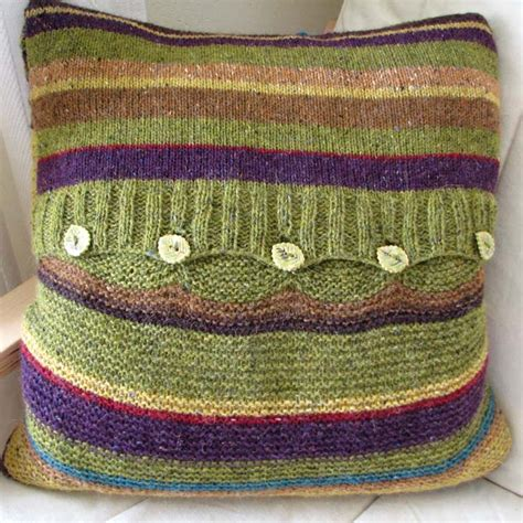 knitted cushion covers patterns uk knitting pattern woodland cushion cover