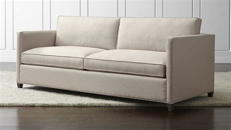 Crate And Barrel Sleeper Sofas Dryden Sleeper Sofa Flax Crate And Barrel