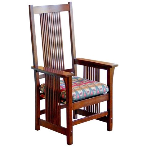 Spindle Armchair by Spindle Armchair By Stickley For Sale At 1stdibs