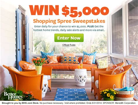 top 28 bhg sweepstakes 2 500 grocery sweepstakes bhg
