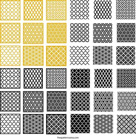 repeat pattern corel draw geometric motifs repeating pattern vectors