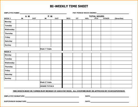 timesheet schedule template weekly timesheet template authorization letter pdf
