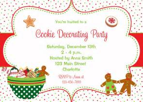 Cookie decorating party invitation by thebutterflypress on etsy
