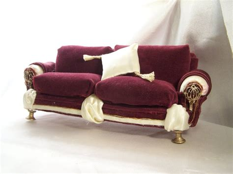 doll couch dollhouse furniture couch 2 by soupfamily on deviantart