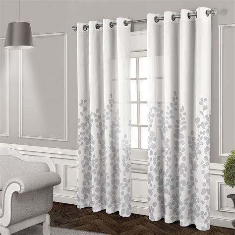 white curtains with grommets wilshire sheer grommet curtain panel white 84 in at home