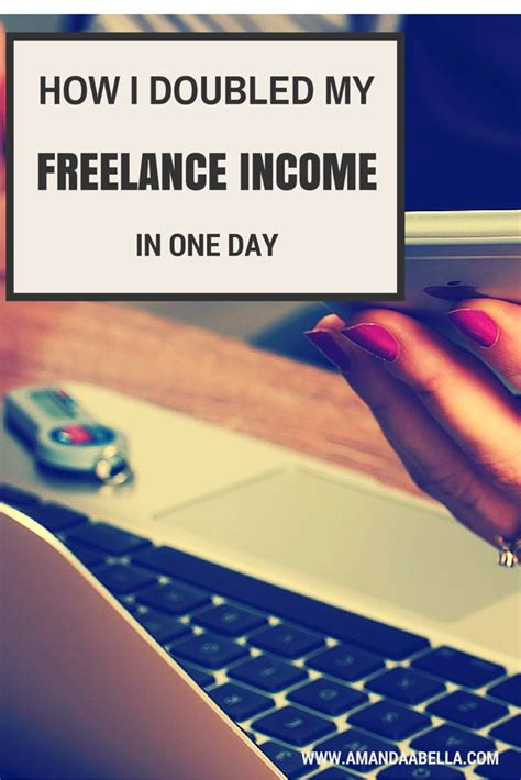 i tripled my salary in how i doubled my freelance writing income in one day