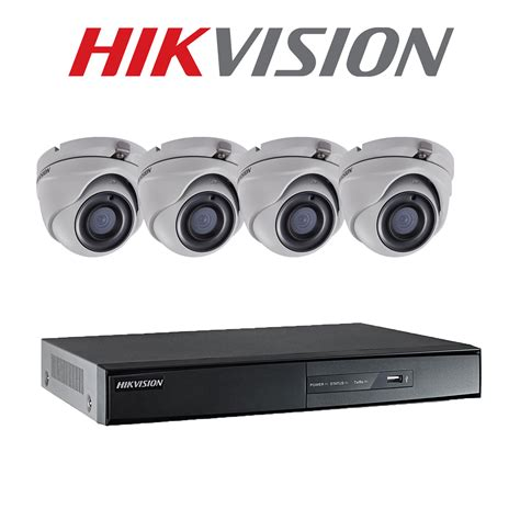 Cctv Hikvision Kamera Outdoor 1 Mp Ahd Smart Ir 4x security hikvision system cctv 4ch dvr recorder