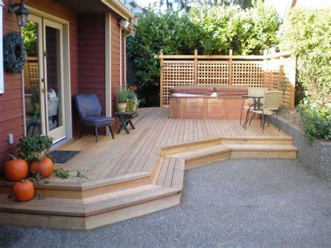 beautiful deck hot tub ideas  joyful backyard