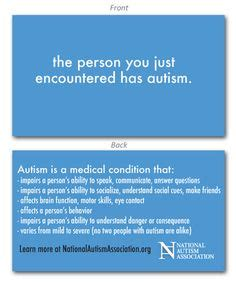 autism wallet card template 1000 images about autism on autism awareness