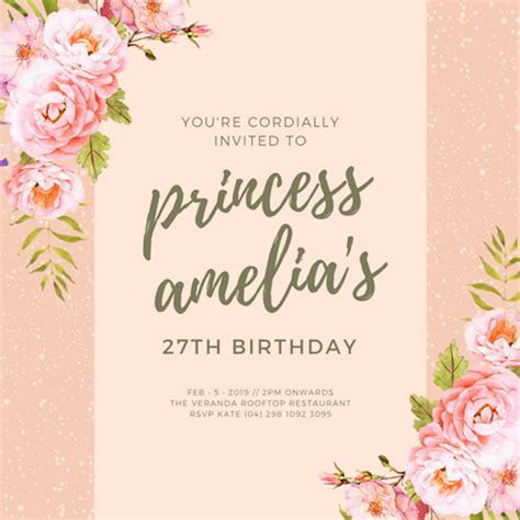 canva ideas 40 princess party ideas canva